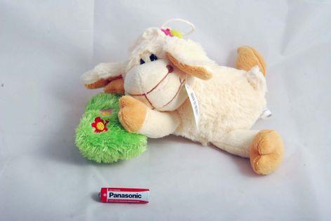 Pluszowa Owca z poduszką