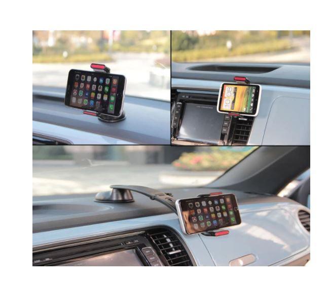 IMOUNT Uchwyt samochodowy na telefon do kokpitu deski szyby kratki zdjęcie 3
