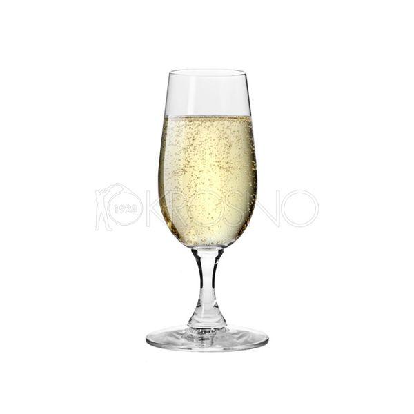 6 kieliszków do szampana 180 ml BASIC KROSNO zdjęcie 2