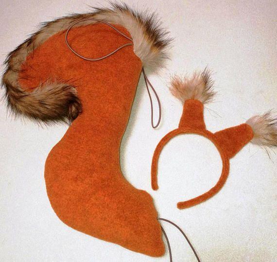 Zestaw Wiewiórka opaska i ogon zdjęcie 1