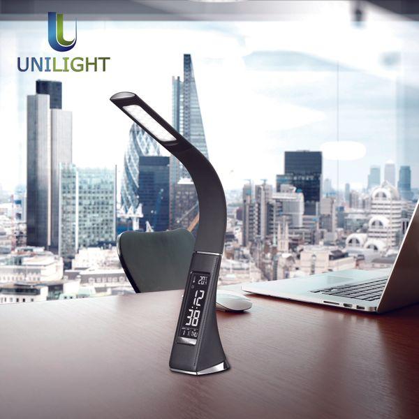 Lampka biurkowa, szkolna, stołowa LED z budzikiem 5W ULFN104 zdjęcie 7