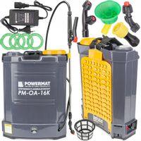 Opryskiwacz akumulatorowy Plecakowy Ciśnieniowy 16L  2 LATA GWARANCJA