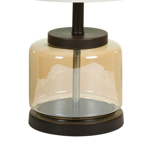 Lampa stołowa Transparent (30 x 63 x 30 cm) zdjęcie 2