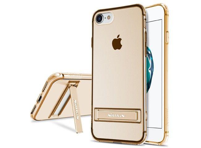 Etui Nillkin Crashproof II TPU do Apple iPhone 7 Kolor - Złoty zdjęcie 4
