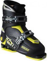 Buty narciarskie Roces Idea Up czarno-limonkowe Junior 450491 18 30-35