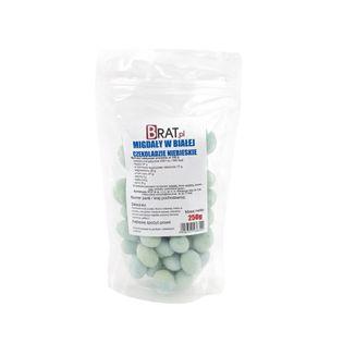 Migdały w białej czekoladzie Niebieskie 250g