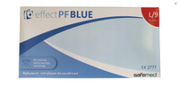 Rękawice Nitrylowe Safamed effect PF Blue L 100 szt