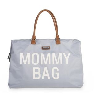 MOMMY BAG CHILDHOME TORBA PODRÓŻNA SZARA #T1