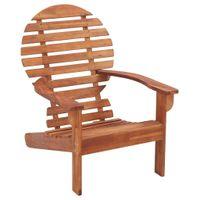 Krzesło ogrodowe Adirondack, lite drewno akacjowe