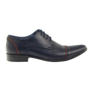 Pantofle męskie VENI VICI 149 granatowe r.42