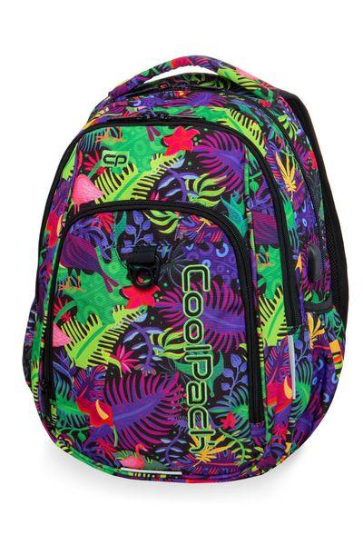 Dwukomorowy plecak szkolny CoolPack Strike L 27L, Jungle B18041 zdjęcie 1