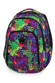 Dwukomorowy plecak szkolny CoolPack Strike L 27L, Jungle B18041