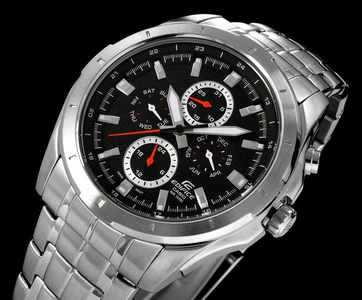 Zegarek Męski CASIO EDIFICE SHOGUT 10 BAR do Pływania 10543 zdjęcie 6