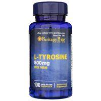 Puritan's Pride L-Tyrozyna 500 mg - 100 kapsułek