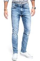 SPODNIE MĘSKIE MUSTANG Jeans Vegas Slim Fit Light Used Blue 1008321 5000 435 W32 L34