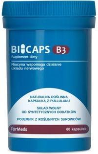 Bicaps Witamina B3 500mg 60 porcji 60 kapsułek ForMeds