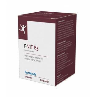 F-VIT B3 60 PORCJI FORMEDS - NIACYNA Z INULINĄ