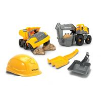DICKIE Construction Zestaw Budowlany Volvo + Akcesoria
