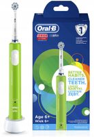 Szczoteczka elektryczna Braun Oral-B Junior 6+ zielona