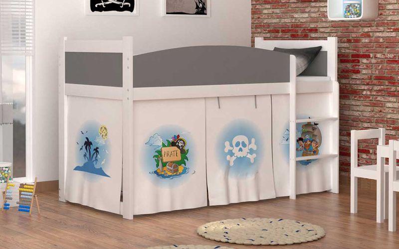 Łóżko piętrowe TWIST ANTRESOLA 190x86 + materac zdjęcie 4