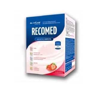 RECOMED dieta odżywcza dla chorych 6 saszetek smak truskawkowy