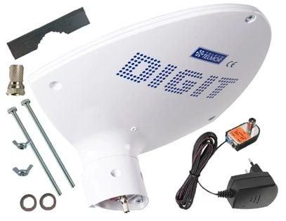 Antena Telmor Digit Activa aktywna dvb-t zasilacz (biały)