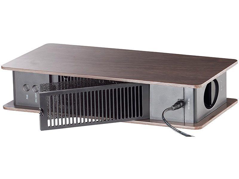Oczyszczacz powietrza z jonizatorem brązowy Newgen Medicals zdjęcie 5