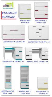 biurko BOSTON MDF C5 100x50 w.75