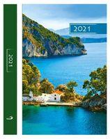 Kalendarz Terminarz B6 KOLOROWY 2021 - góry i woda