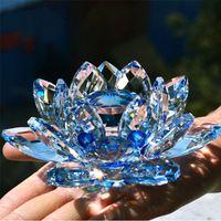 Kryształowy Kwiat LOTOSU - Piękna Ozdoba Domu