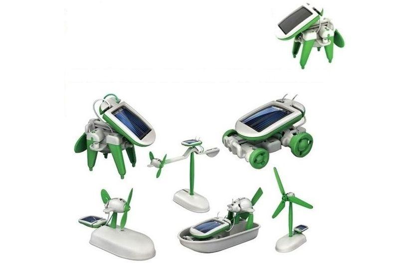 Zestaw Kreatywny ROBOT SOLARNY 6w1 Konstrukcja zdjęcie 1