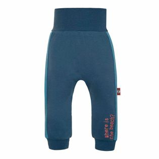 Spodnie dresowe cienkie chłopięce dzianinowe
