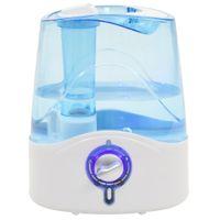Nawilżacz ultradźwiękowy z mgiełką i światłem, 6 L, 300 ml/h