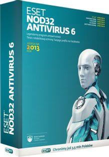 Program Eset Eset Nod 32 Antivirus 6 2013 (1 St. 24 Mies.)