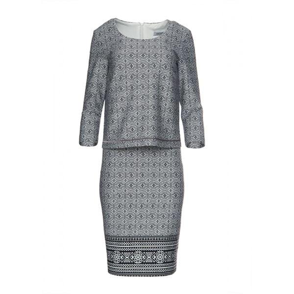 9208966240 Elegancka sukienka do pracy R  40