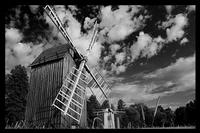 Architektura wiejska w Polsce  Drewniane ramy- Rozmiar - 60x40, Kolor ramy - Czarna