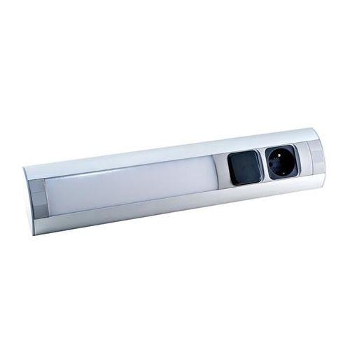 Gniazdo meblowe ORNO OR-AE-1317 z oświetleniem LED idealne do zastosowania w meblach i witrynach na Arena.pl