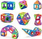 Klocki Magnetyczne Zestaw 46 Elementów Magformers