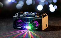 BOOMBOX BLUETOOTH RADIO FM AKUMULATOR MIKROFON USB