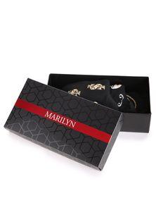Pudełko Prezentowe Czarne Podłużne Marilyn CZARNY ONE SIZE