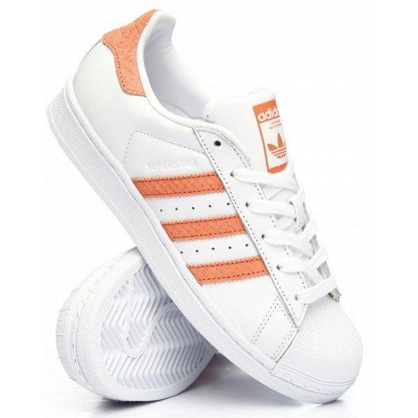 Buty Adidas SUPERSTAR Białe 37 40 CG5462 Boskie wężowe Koral Prezent