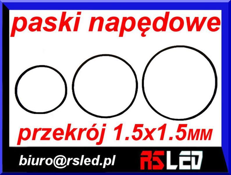 pasek napędowy audio video przekrój 1,5 x 1,5 mm duży wybór na Arena.pl
