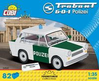 Cobi Klocki Youngtimer Collection Trabant 601 Polizei