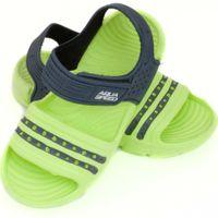 Klapki sandały basenowe dla dzieci Aqua-speed Noli zielono granatowe kol.84 24