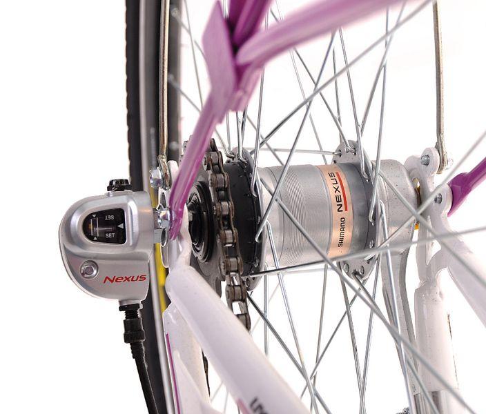 Kozbike Damski Rower Miejski 26 Damka 3 Biegi z Koszem (15) zdjęcie 2