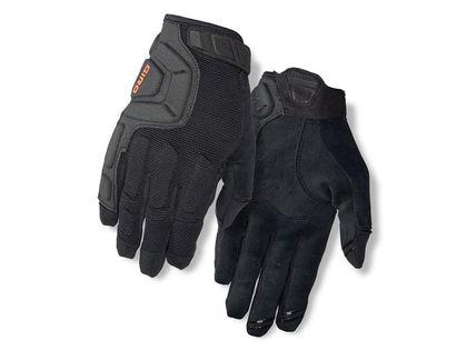 Rękawiczki męskie GIRO REMEDY X2 długi palec black roz. XXL (obwód dłoni od 267 mm / dł. dłoni od 211 mm) (NEW)