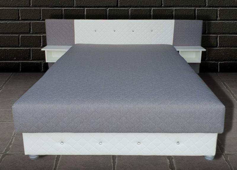 łóżko Tapicerowane Aleks Z Materacem Pojemnikiem łóżka Na Wymiar