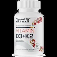 OSTROVIT Vitamin D3+K2 90tab Witamina Mk-7 Natto