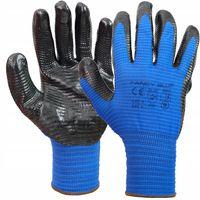 RĘKAWICE robocze Rękawiczki R.9 L NITRYLOWE Fancy