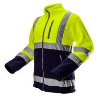 Bluza polarowa ostrzegawcza żółta ciepła r. XL